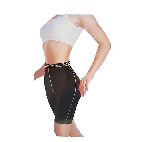 YC Support Panty Fitness Minceur Femme - Noir
