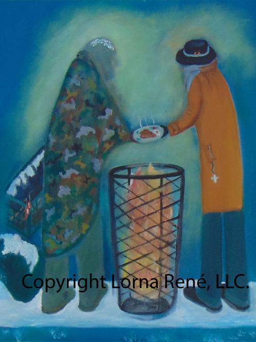 Rough Transition - Lorna René LLC Artwork