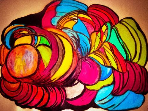 Colorful Surprise - Lorna René LLC Artwork