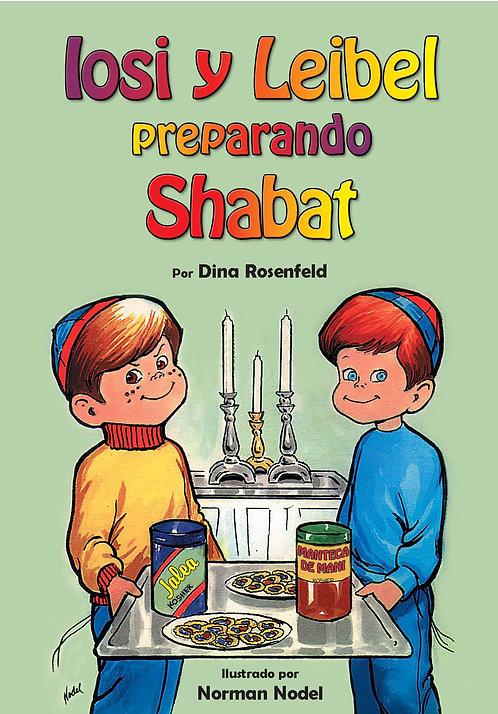 Iosi y Leibel preparando Shabat