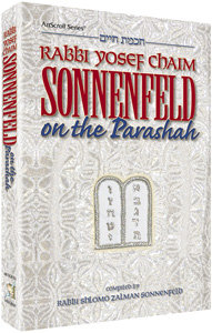 Sonnenfeld on the parashah