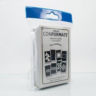 Juego de cartas Conformate