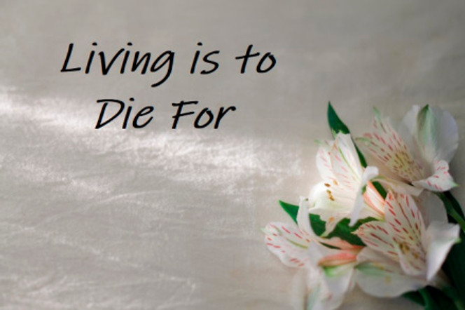 Living is to Die For Pic