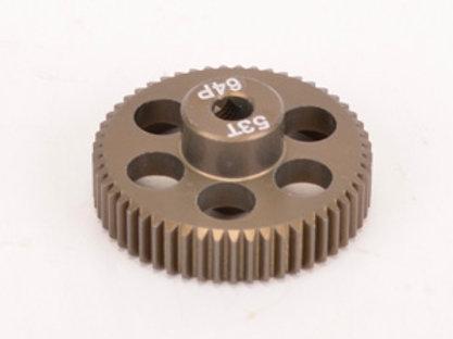 Pinion Gear 64DP 53T (7075 Hard)