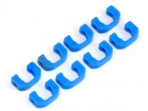 3.5MM POM C-BLADE FOR DESTINY/YOKOMO 8PCS BLUE