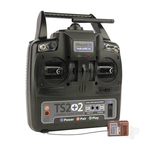 Planet TS2+2 2.4GHz 2-Channel Stick Transmitter & 6-channel Rx