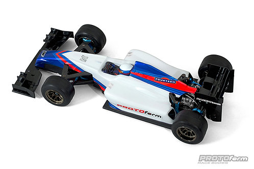 PROTOFORM F1-FOURTEEN CLEAR BODY FOR F1