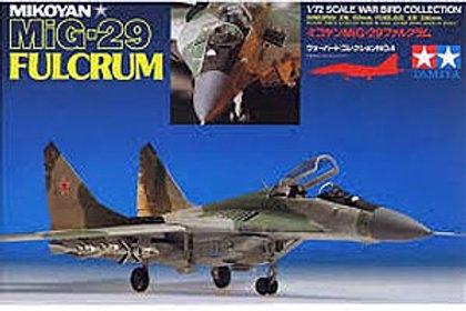 Tamiya 1/72 Mig 29 Fulcrum - 60704