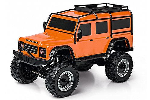 Carson 1:8 Land Rover Defender RTR (Orange) - C404171