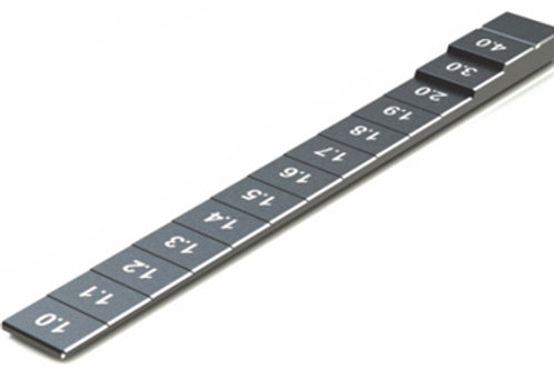 Chassis Ride Height Gauge 1.0-4.0mm-Black