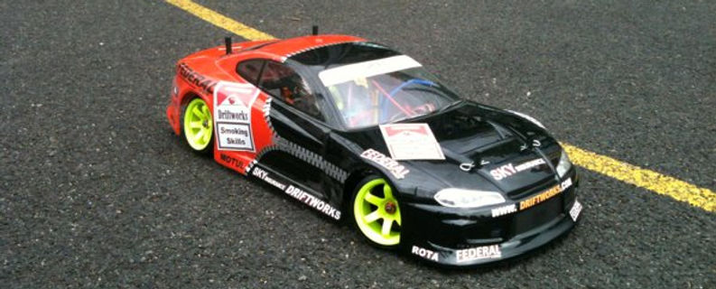 Custom Painted Drift Works S7