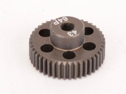 Pinion Gear 64DP 43T (7075 Hard)