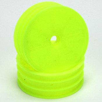 Wheel; Med Front Fluro Yellow - 2WD - Bearing Fit