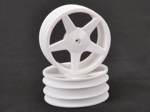 CR680 - JC 5 Spoke Front White Wheel XLS - pr