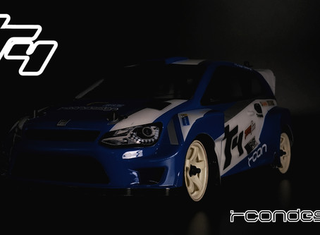 Sneak preview of the New Rcon R4 WRC Body For M chassis