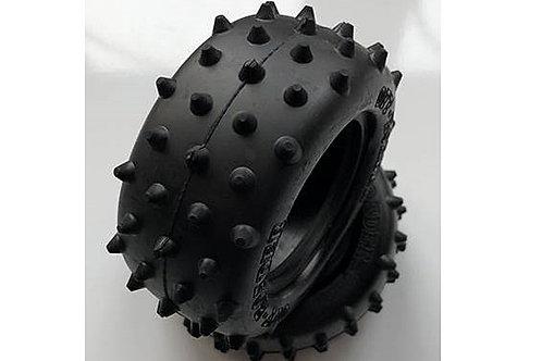 Tamiya Rear Spike Tyre - 1pr (Grasshopper II / Falcon) - 9805183