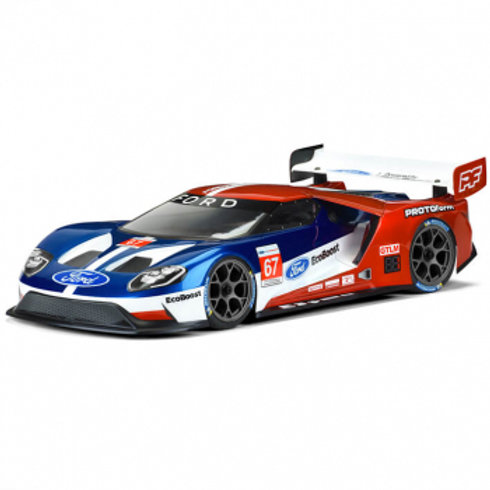 PROTOFORM FORD GT LIGHTWEIGHT CLEAR BODYSHELL 190MM