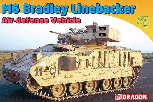 DRAGON 1/72 M6 BRADLEY LINEBACKER AIR DEFENCE VEHICLE - D7624