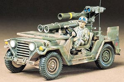 Tamiya 1/35 M151A2 w/Tow Missle Launcher - 35125