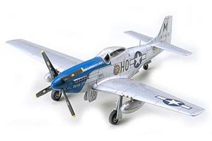 Tamiya 1/72 North American P-51D Mustang - 60749