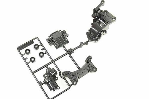 Tamiya A Parts (A1-A5 - TA02) Front Shock Tower & Gear Case - 0005574