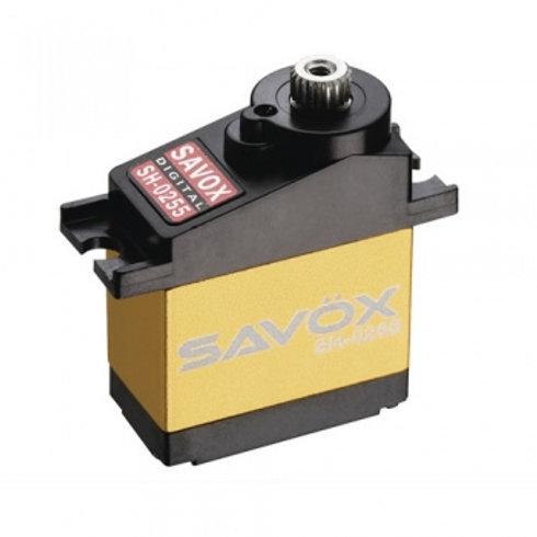 SAVOX MICRO SIZE DIGITAL SERVO 3.9KG@6V (HELI & PARKFLY) - SH-0255MG