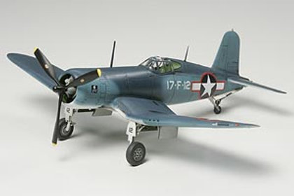 Tamiya 1/72 Vought F4U-1 Bird Cage Corsair - 60774