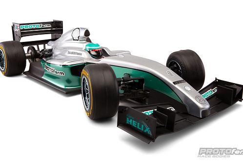 Protoform F1-Fifteen Clear Formula 1 Body