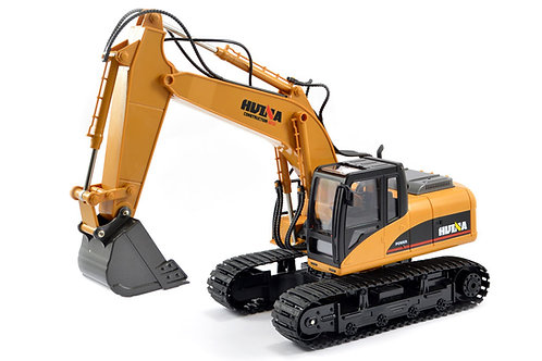 HUINA 1/14TH SCALE RC EXCAVATOR 2.4G 15CH w/DIE CAST BUCKET - CY1550