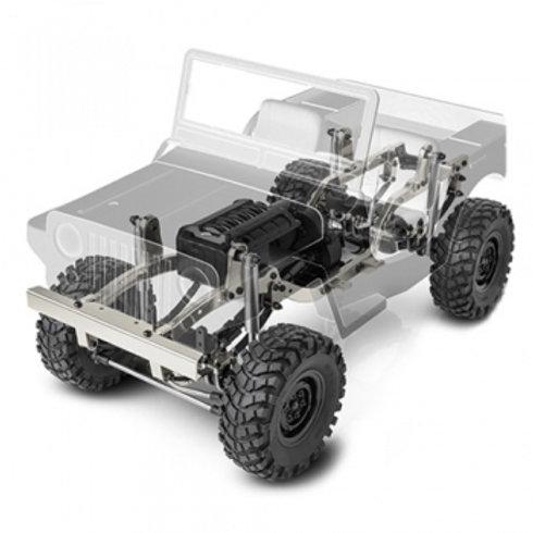 GMADE GS01 SAWBACK 4WD 1/10 SCALE ROCK CRAWLER KIT - GM52000