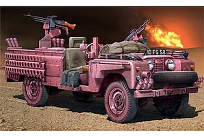 """Italeri 1/35 S.A.S. Recon Vehicle """"Pink Panther"""" - 6501"""
