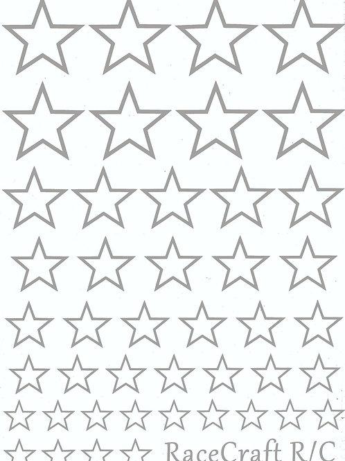 Paint Mask - Outline Stars