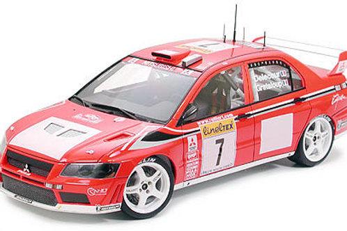 Tamiya 1/10 Mitsubishi Lancer Evo WRC Body Set - 50927