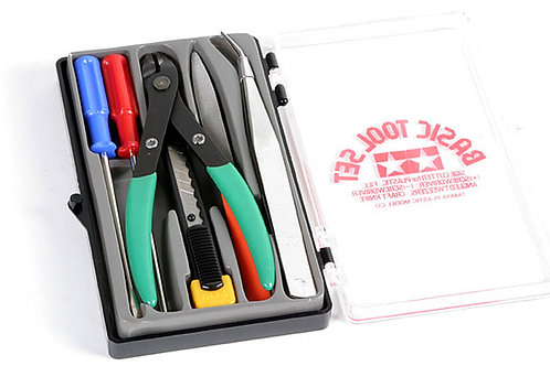 Tamiya Basic Tool Set - 74016