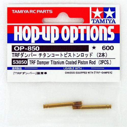 Tamiya TRF Damper Titanium Coated Piston Rod (2pcs) - 53850