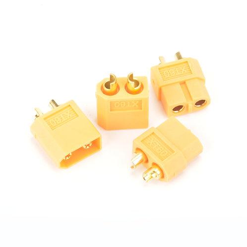 XT60 PLUG M/F PAIR - 2PCS - MK2980P