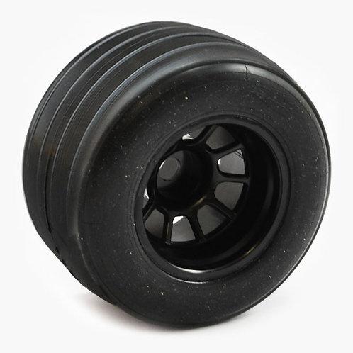 Sweep 1/10 Formula 1 Rear V4 Pre Glued Grooved Tyres 28R