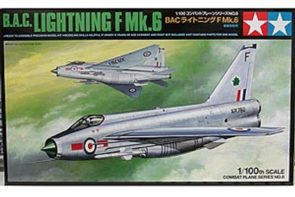 Tamiya 1/100 B.A.C. Lightening F Mk.6 - 61608