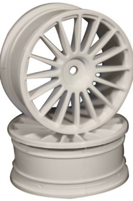 Ride 16 Spoke Nylon Wheel Set - White 4pcs