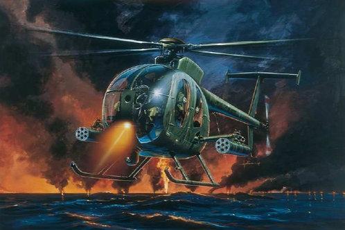 Italeri 1/72 AH-6 Nightfox - 017