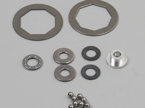 Tamiya RD Differential Ball & Plate Set - 50388