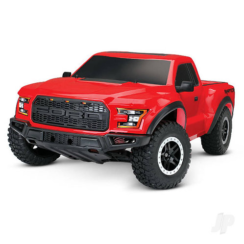 Red Ford F-150 Raptor 1:10 Slash 2WD RTR - TRX58094-1-RED