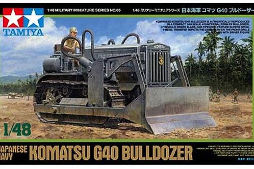 Tamiya 1/48 Japanese Navy Komatsu G40 Bulldozer - 32565