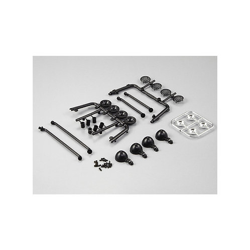 KILLERBODY ROLL BAR WITH SPOT LIGHT MOULDINGS FOR TRUCK BED - KB48237