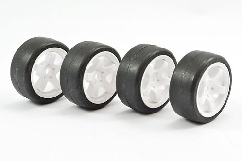 Sweep Pre Glued Mini Tyres -40 Deg
