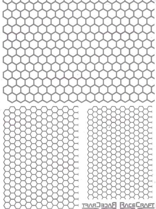 Paint Mask- Mixed Honeycomb