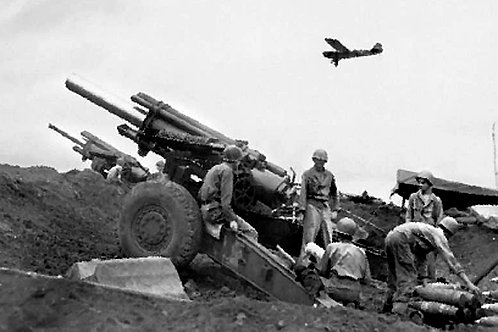 Italeri 1/35 M1 155mm Gun With Crew - 6581