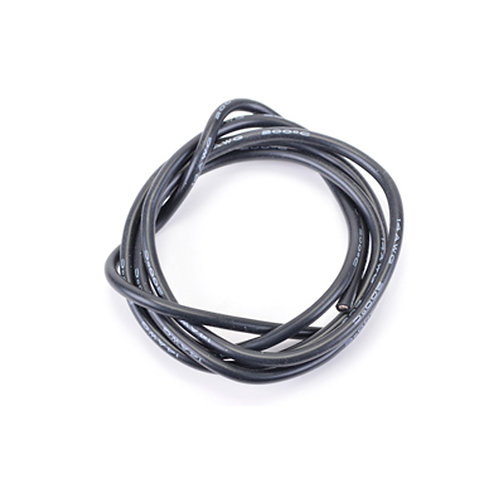 SILICONE WIRE BLACK 13 AWG - 1MTR - CR653