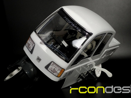 Rcon Lola Body For Tamiya T£-01 Dancing Rider Trike back in stock