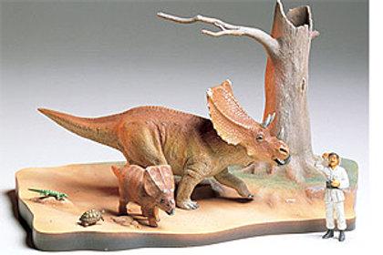 Tamiya 1/35 Chasmosaurus Diorama